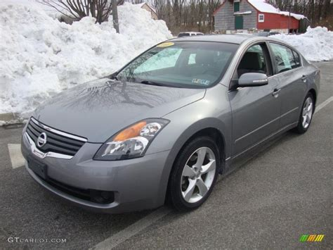 grey nissan altima 2007 precision gray metallic nissan altima 3 5 se