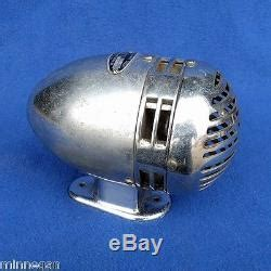 vintage federal chrome siren vg 6 volt