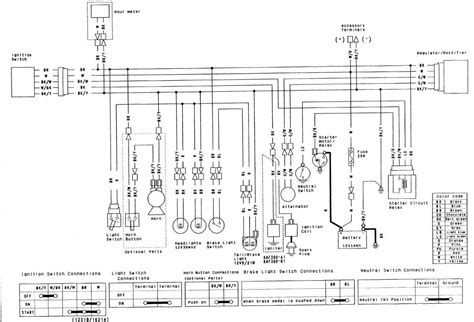 kawasaki mule ignition wire ing diagram can t figure where bulk yellow wire go on ignition also