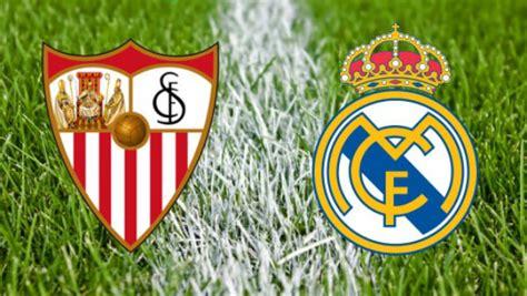 Sevilla Vs Real Madrid: horario y canal de televisión