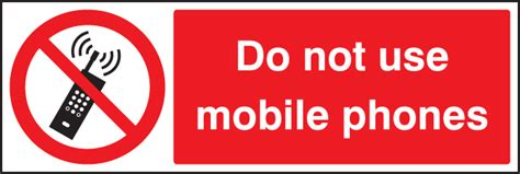 Do Not Use Mobile Phones Sign Ssp Print Factory
