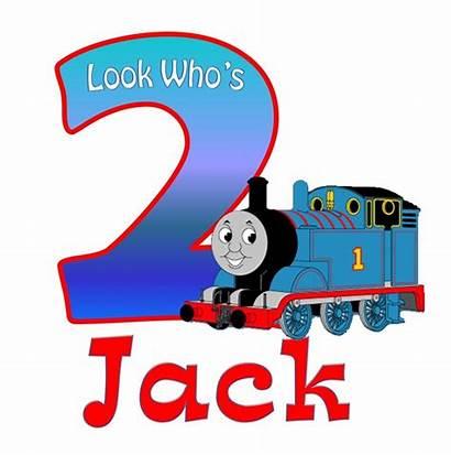 Thomas Train Clipart Birthday Clip Shirt Cliparts