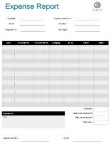 Exle Of An Expense Report expense report form software create expense report forms