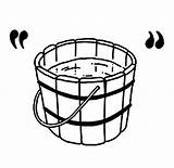 Bucket Water Coloring Wooden Clipart Pages Contain Pale Pail Template Sheet Mop Cliparts Clip Sketch Library Tocolor Button Through sketch template