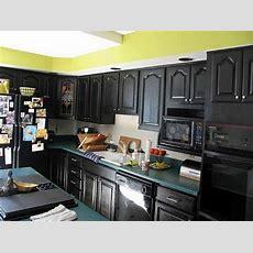 Black Kitchen Cabinets  Black Gloss Kitchen Cabinets Ikea