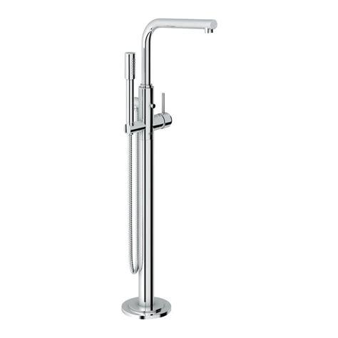 floor mount faucet grohe atrio single handle floor mount tub faucet