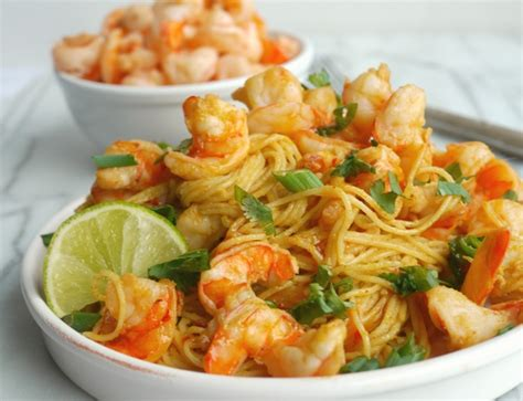 Served in bibb lettuce cups, it's perfect for lunch, a light supper or as an appetizer. Spicy Thai Shrimp Pasta + VIDEO