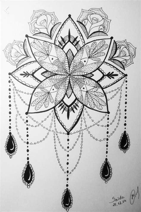#rose #mandala   Tattoos, Tattoo designs, Flower tattoos