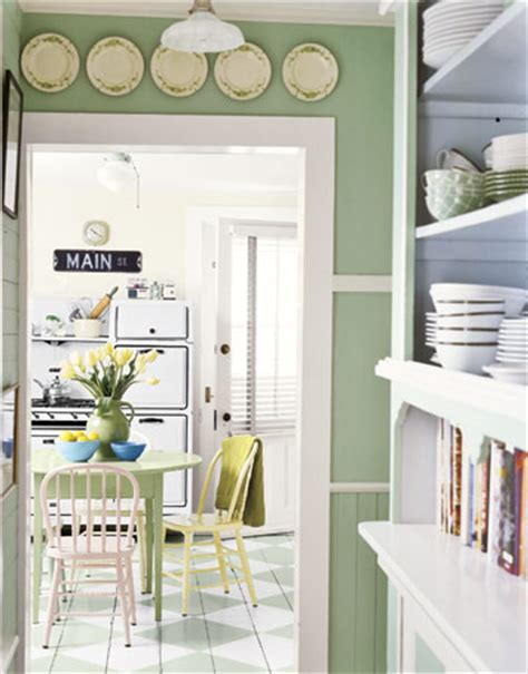 retro kitchen colors back to home design vintage inspired green paint 1932