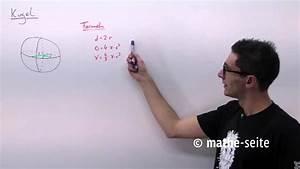 Kugel Umfang Berechnen : kugel berechnen kugelvolumen kugeloberfl che halbkugel youtube ~ Themetempest.com Abrechnung