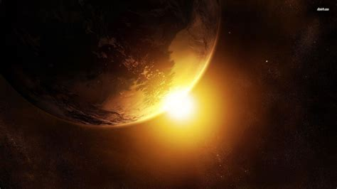 earth  sun wallpaper fantasy wallpapers