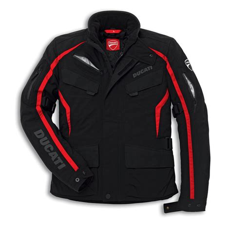 cloth moto jacket ducati fabric jacket tour 14 rev 39 it black motorcycle jacket