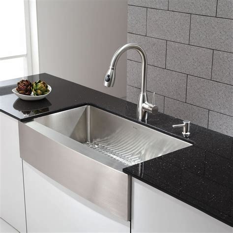 Decor Contemporary Sinks At Lowes For Fascinating Kitchen
