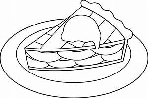Apple Pie Clipart Black And White - Free Clip Art ...