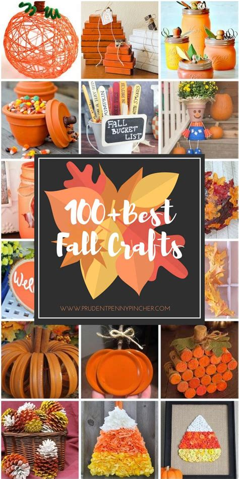 crafts for adults images 100 best fall crafts for adults prudent pincher
