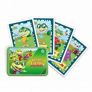 leapfrog imagicard letter factory adventures learning game With letter factory toy