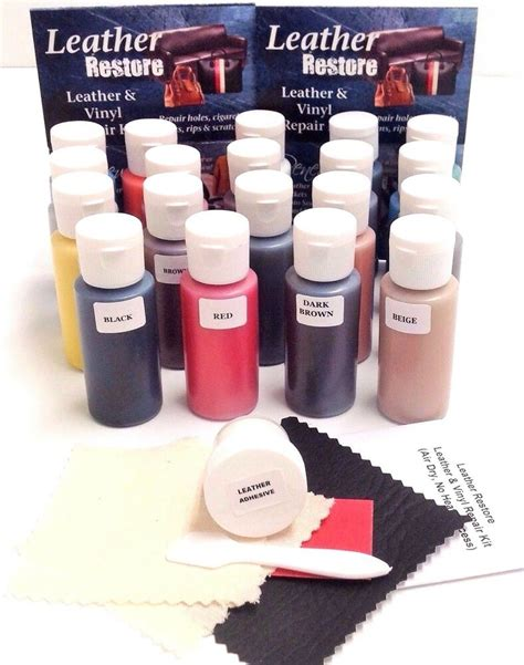 leather settee repair kit leather vinyl repair kit 1 oz ready to use color fix