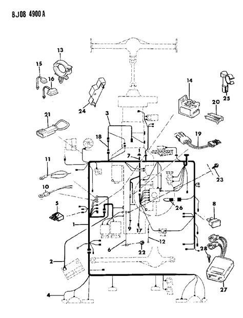 Wiring Diagram For 1988 Jeep Comanche by Jeep 1988 Comanche Parts