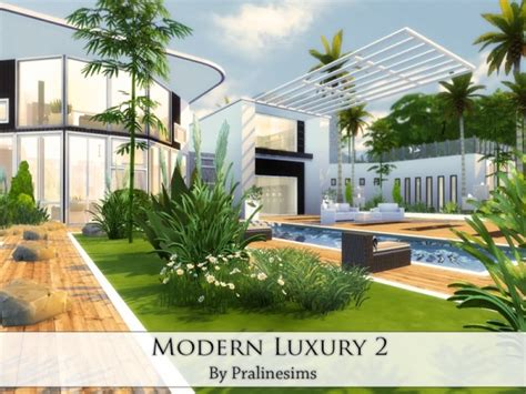 The Sims Resource Modern Luxury 2 By Pralinesims • Sims 4
