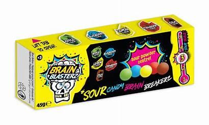 Candy Brain Sour Sweets Breakerz Blasterz 45g