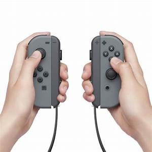 Nintendo Switch Grey Joy Con Controller Set LR