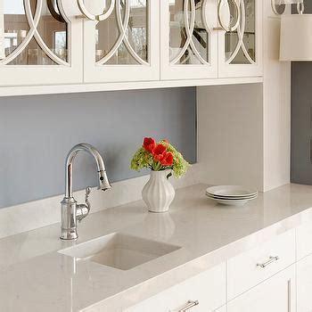 Silestone Lagoon Countertops   Transitional   kitchen