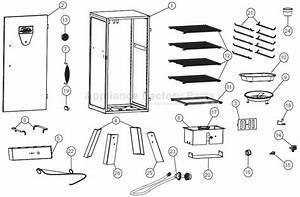 Masterbuilt 20050211 Parts