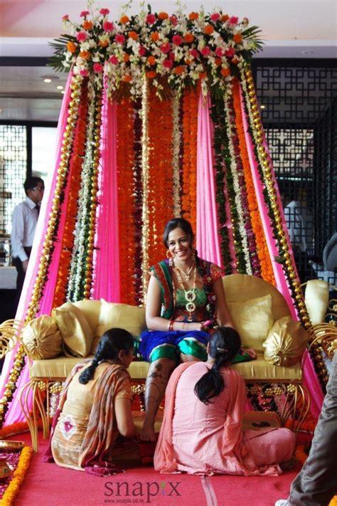 special bride sitting  mehendi