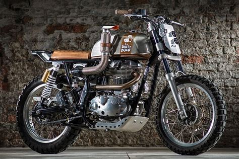 Modification Royal Enfield Continental Gt by Modified Royal Enfield Factory Built Custom Continental