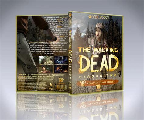 walking dead season  xbox  box art cover