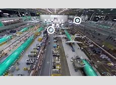 Take a virtual tour of Boeing's jet factory in Renton