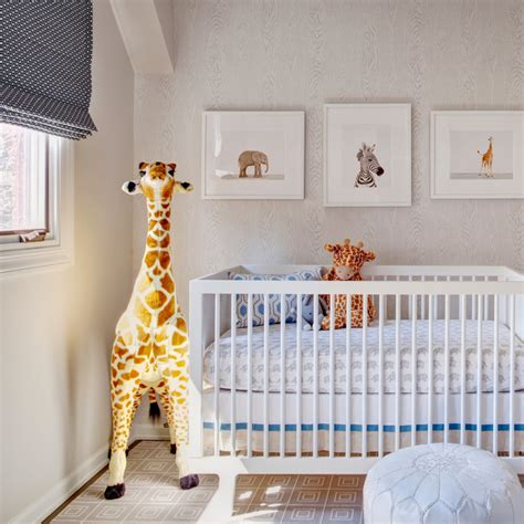 Giraffe Wallpaper For Nursery by Baby Nursery Comely Neutral Baby Nursery Room Decoration