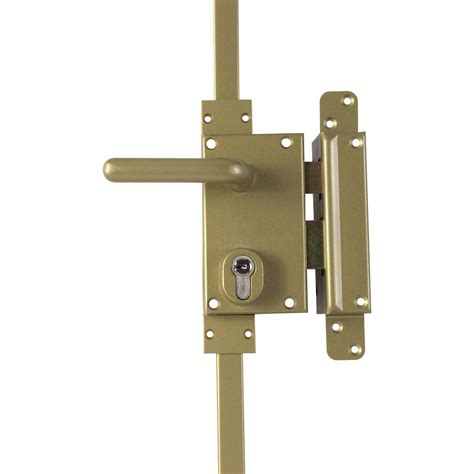 poignee de porte serrure 3 points serrure en applique multipoint bricard a2p poign 233 e 224 droite axe 50 mm leroy merlin