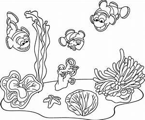 Comment Dessiner La Mer : coloriage imprimer un fond marin coloriages ~ Dallasstarsshop.com Idées de Décoration