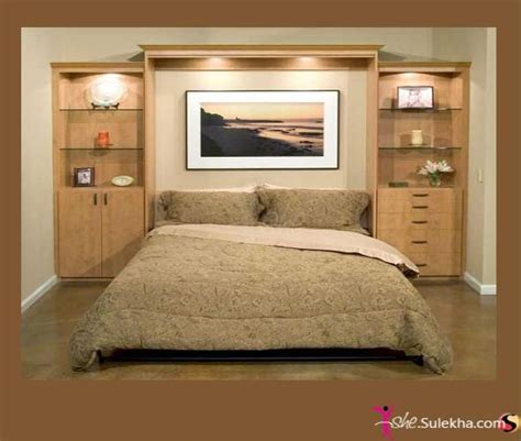 Bedroom Cabinet Design Ideas Pictures by Awesome Headboard Wall Unit Idea Bedroom Murphy Bed