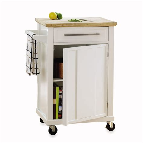 kitchen island and cart three wood topped kitchen carts on casters in budget
