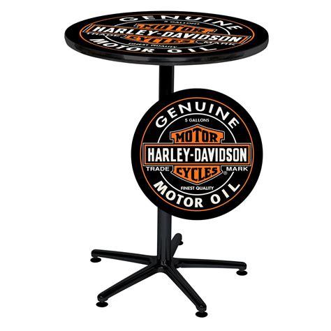 harley davidson pub harley davidson h d oil can cafe pub table shop your way