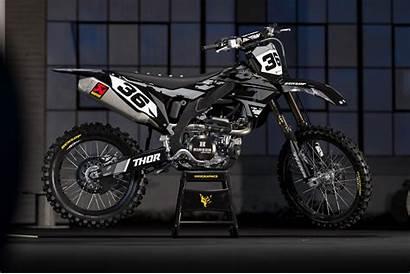 Graphics Kawasaki Grey Dirt Bike Boost Motocross