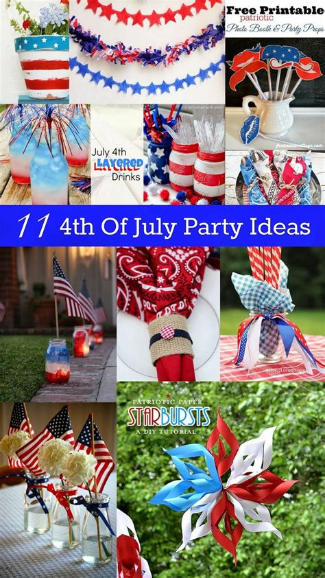4th of july celebration ideas 11 4th of july party ideas housewife parties and 4th of july party
