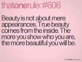 beautiful inside and out quotes quotesgram