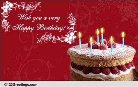 Wish You A Whole Lot Of Happiness. Free Happy Birthday ...