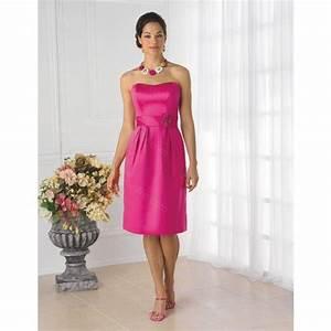 robe rose fushia demoiselle d39honneur recherche google With robe demoiselle d honneur fushia