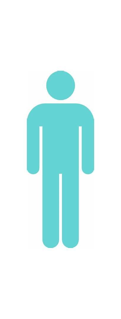Male Sign Seafoam Clip Clker