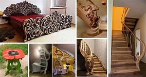 Modern, Handicraft, Wood, Crafts, Ideas, India, Home, Interior