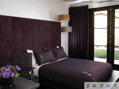 Purple Color Bedroom Ideas
