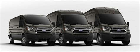 ford transit cargo van engine options  specs