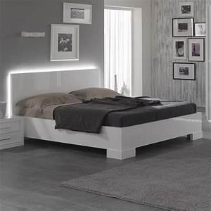 Lit Pas Cher Ikea : lit blanc ~ Teatrodelosmanantiales.com Idées de Décoration