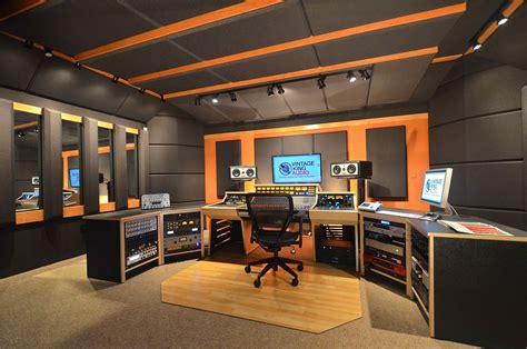 Studio 6 Home Decor : Designing A Sound Recording Studio