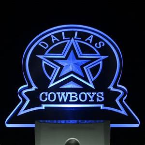 ws0142 Dallas Cowboys Sport Bar Day/ Night Sensor Led ...