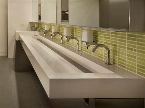 zero radius undermount commercial stainless steel trough sinks designs ideas
